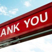 "Why not celebrate life by giving thanks? My 2,800 word ""thank you"" list."