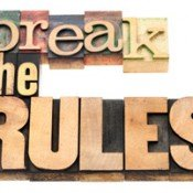 Why Rule-Breaking is So Important