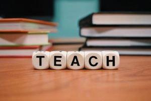 Be a great marketer. Teach!