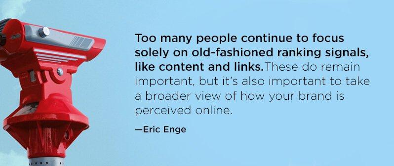 Eric Enge –SEO quote