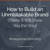 How to Build an Unmistakable Brand